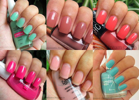 Nail Shades for Spring - Summer: C&D Picks!