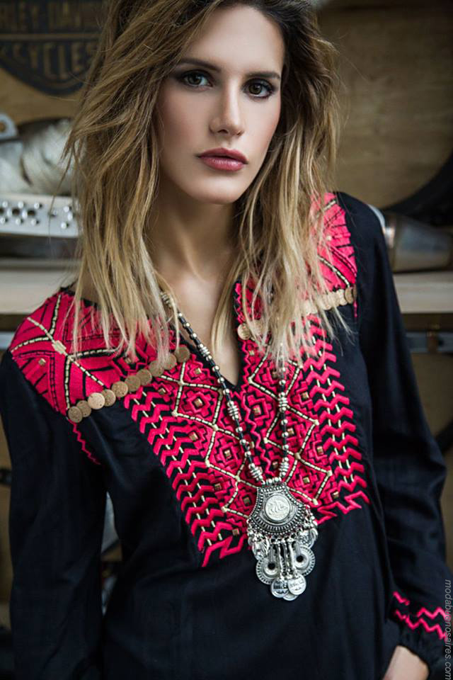 Moda mujer blusas y túnicas invierno 2017 moda. Moda 2017.