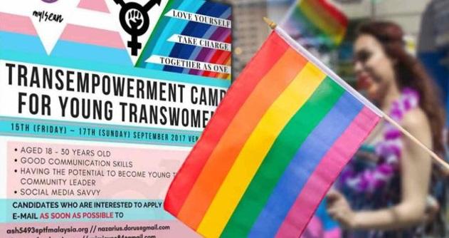 Berita Gembira Untuk Para Mak Nyah Dan Gay. Kem Perkasa Mak Nyah, Gay Akan Dibuat Secara Terbuka Dan Besar-besaran Di Malaysia