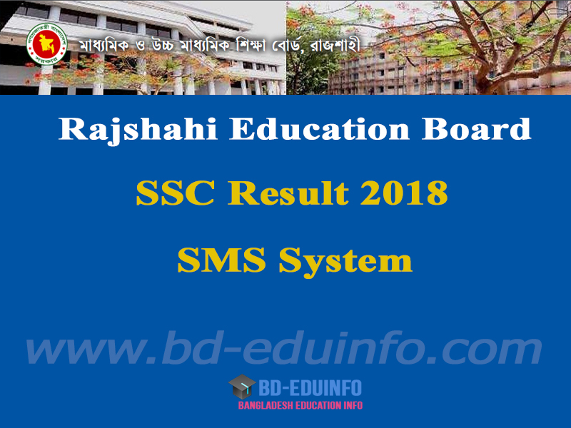 Rajshai Board SSC Exam Result 2018