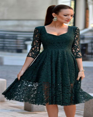 vestido verde formal corto