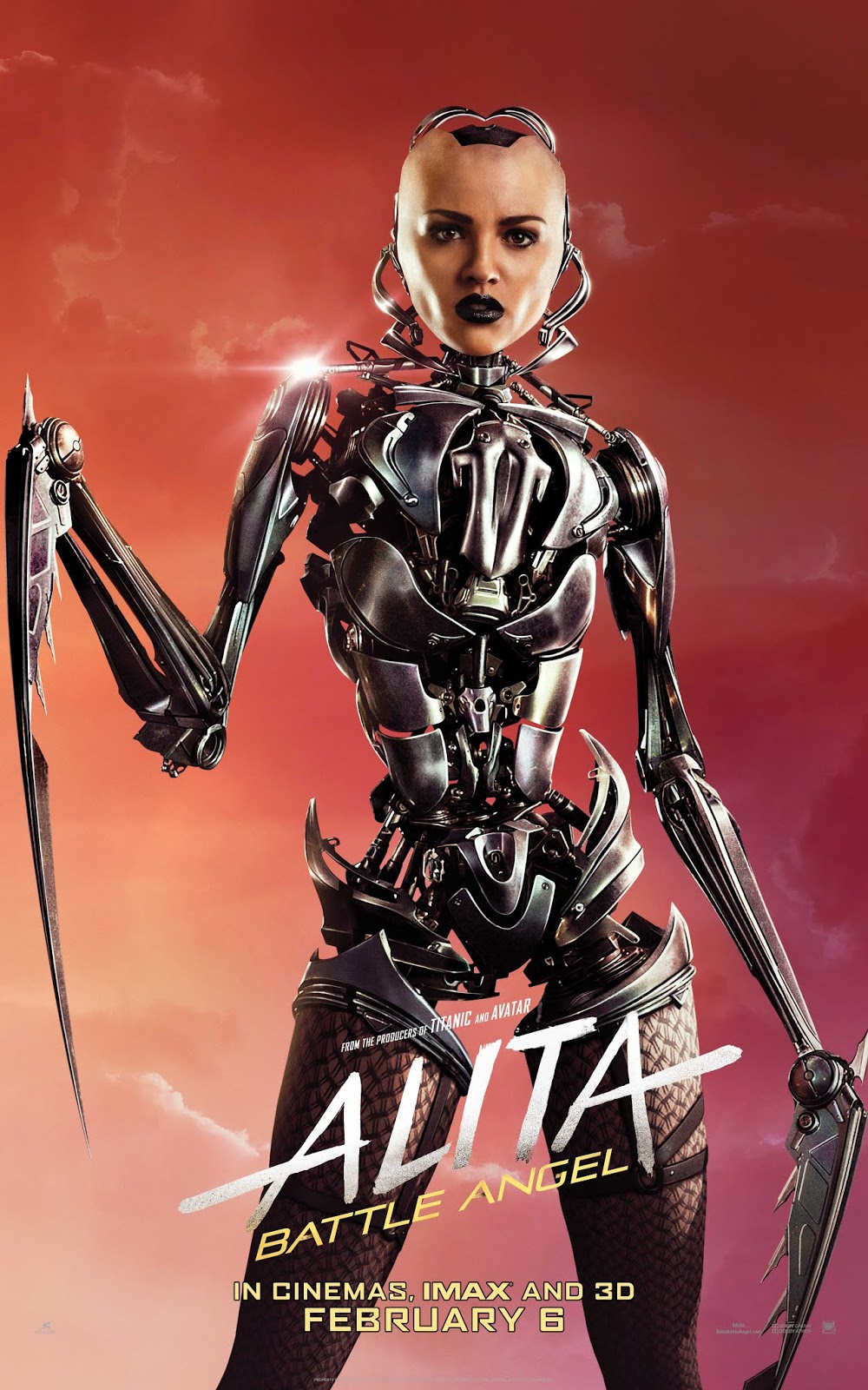 ALITA: BATTLE ANGEL CHARACTER POSTER