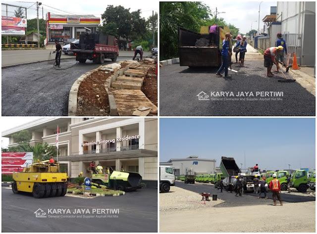 Jasa Pengaspalan Hotmix Kontraktor pengaspalan, Jasa perbaikan jalan yang rusak, pelebaran jalan, pemadatan, pelapisan aspal jalan