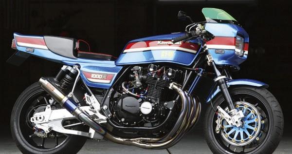 Racing Caf U00e8  Kawasaki Z 1100r No 002 By Bull Dock