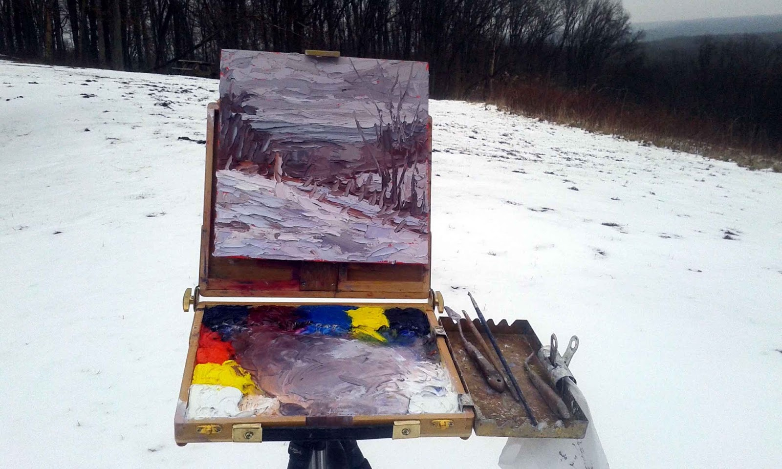 Can You Oil Paint Traight Out Of The Tube