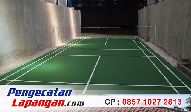 Cat Lapangan Badminton