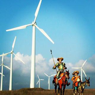 Parece conto da carochinha, mas don Quixote virou a casaca. Na Espanha, as energias renováveis ficaram quixotescas.