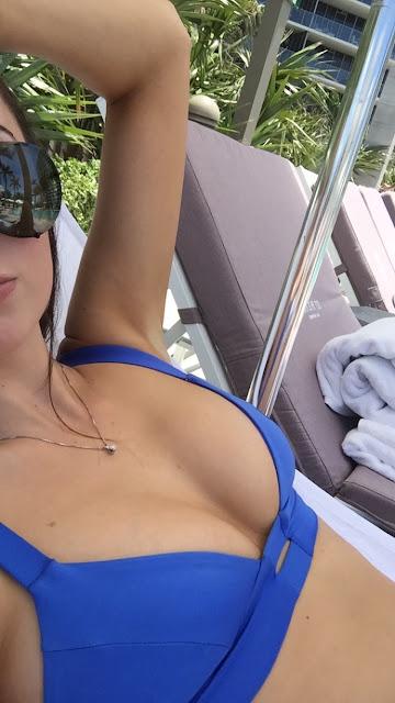 Vitamin A Swim Neutra Barlette - Azure Blue Bikini