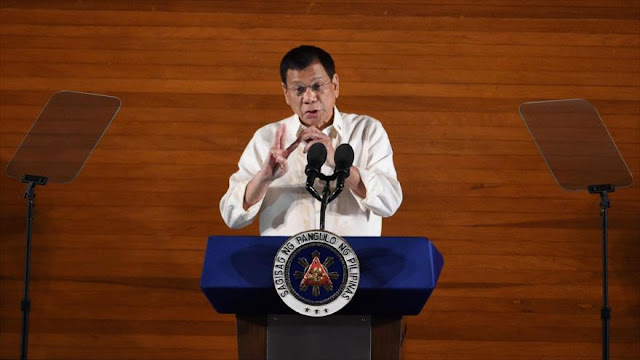 Presidente filipino advierte a EEUU de ruptura de lazos