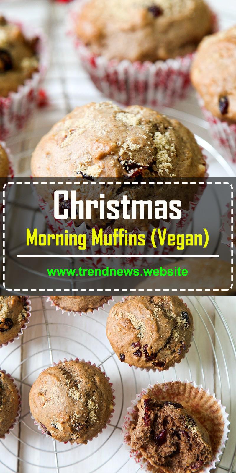 Christmas Morning Muffins (Vegan)