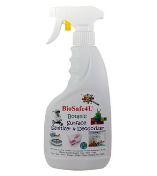 BioSafe4U - Botanic Surface Sanitizer & Deodorizer