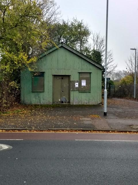 Green Hut, Cherry Hinton, Cambridge, Parish Hall, Infants School, Dilapidated