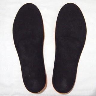 Foot-Kインソール ノンオーダーモデル スポーツタイプ EVAオレンジ(L) 裏