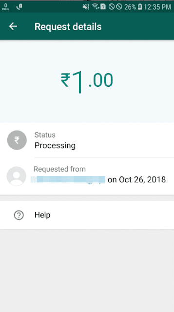 whatsapp payment se paiso ki request kaise bheje, how to send payment request from whatsapp bussiness on upi in hindi