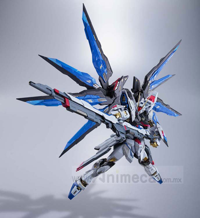 STRIKE FREEDOM GUNDAM ZGMF-X20A METAL BUILD FIGURE Mobile Suit Gundam SEED DESTINY BANDAI