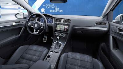 Volkswagen Golf GTE, interior