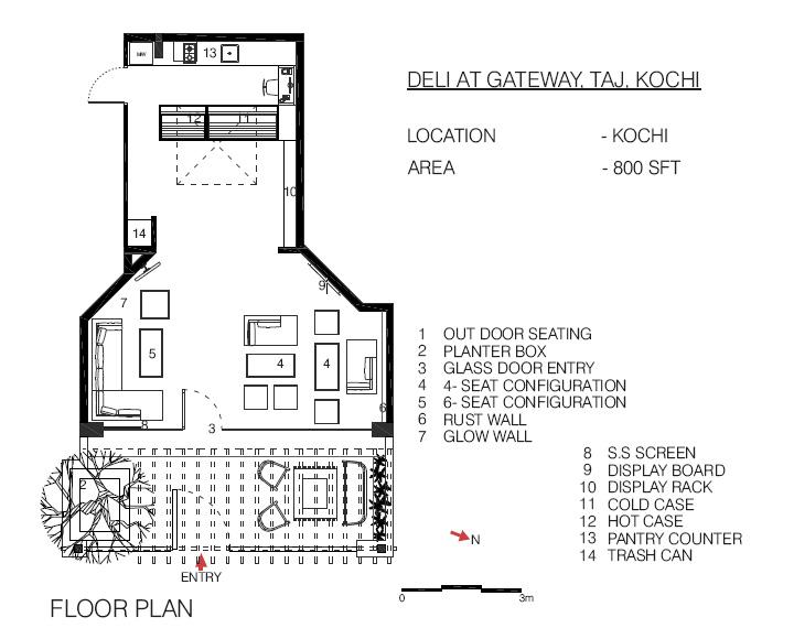 Deli At Gateway : By 10×10 Design Consultants