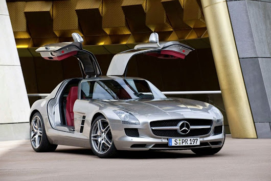 Mercedes SLS AMG supercar information: ~ New cars information