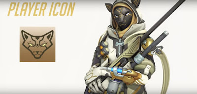 Overwatch, Ana's Bastet, Event Rewards, Player Icon
