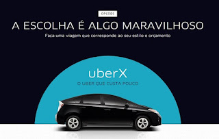 Primeiras cidades com UBER no Brasil