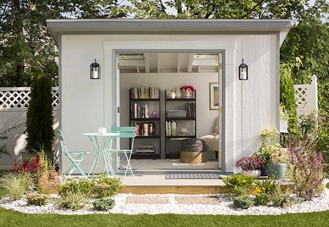 "she shed, top 5 ""She Shed"", personal space, home, home and living, shed, reading nook"