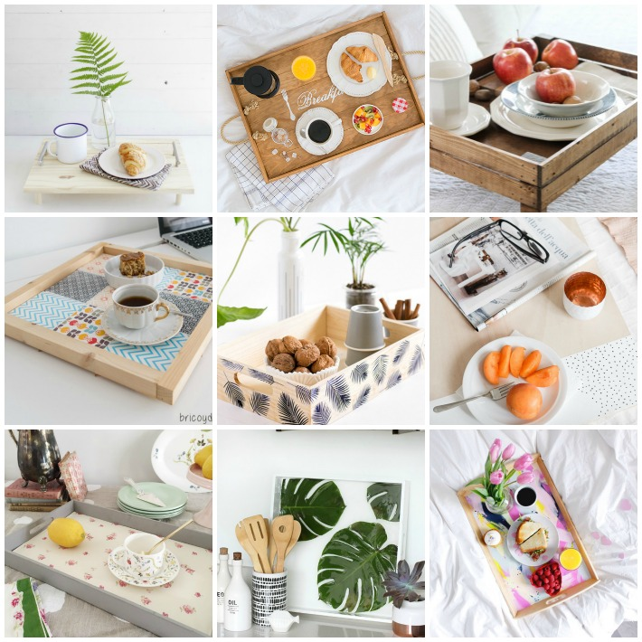Decoraci n f cil 9 diy bandejas de desayuno - Bandeja desayuno cama ...