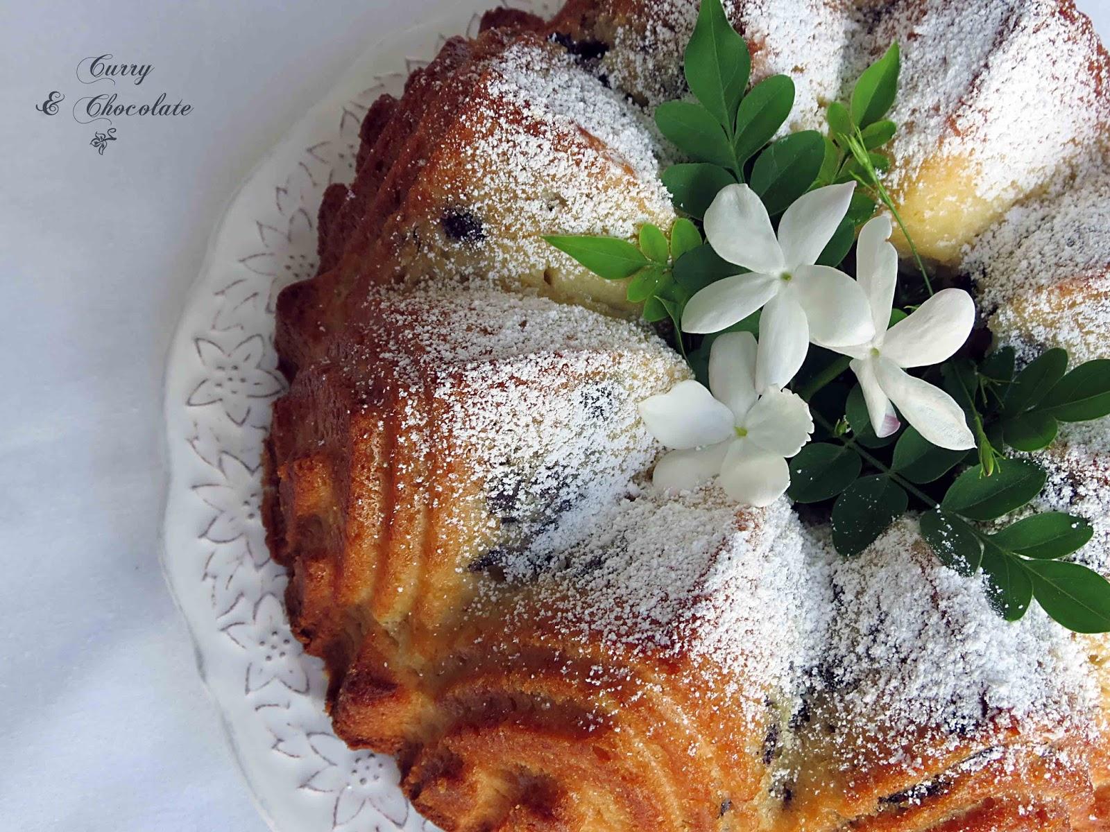 Bizcocho de leche con aroma a cítricos (sin lactosa) – Milk sponge cake