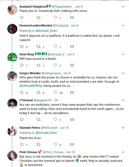 2019 Guber Election: Former Cross River Governor, Donald Duke for President -- Nigerians React