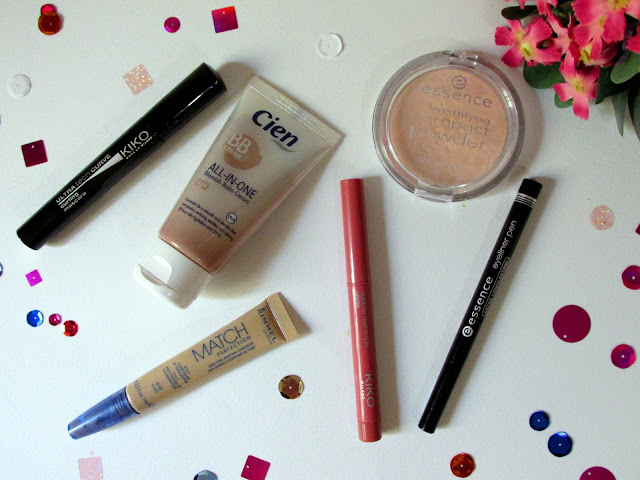 Simple summer makeup routine using Kiko, Essence, Rimmel and Cien makeup