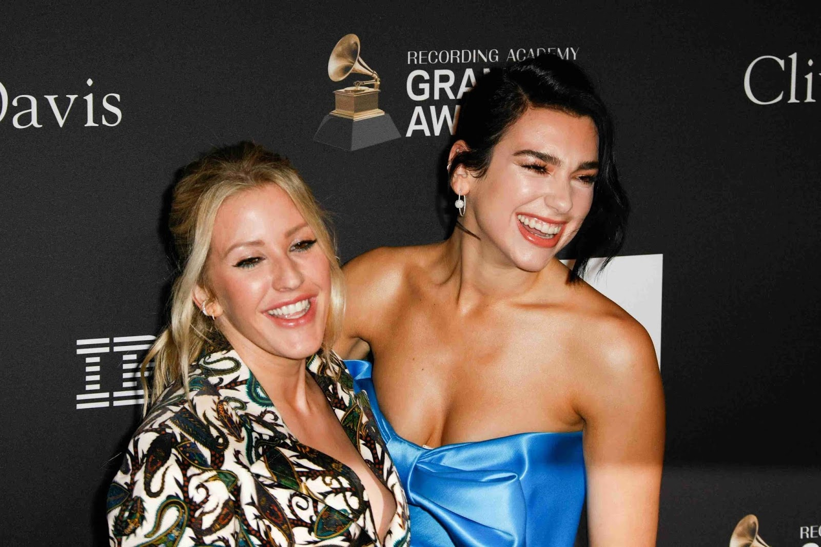 Ellie Goulding and Dua Lipa - Clive Davis' 2019 Pre-Grammy Gala in LA - 02/09/2019