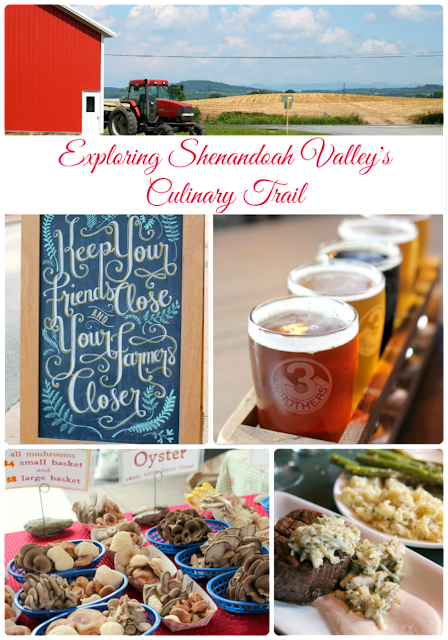 Exploring Shenandoah Valley's Culinary Trail in Virginia #BlueRidgeBucket #Trekarooing