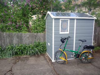 Running an Ebike on Solar Energy: The Sheddy Kilowatt Story