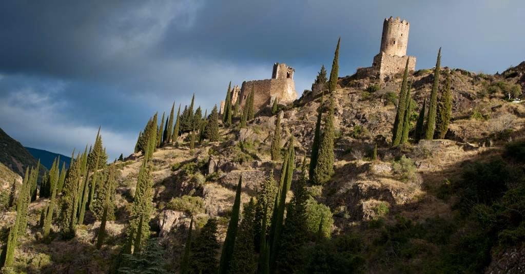 Los castillos de Lastours