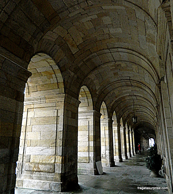 Santiago de Compostela, Pazo do Raxoi, sede da presidência da Comunidade Autônoma da Galícia