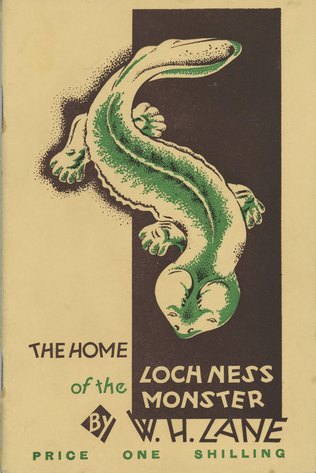 Shukernature The First Nessie Book And A Comprehensive