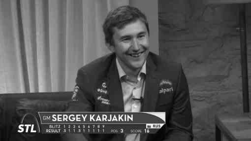 Blitz : Sergey Karjakin loin devant Garry Kasparov © site officiel