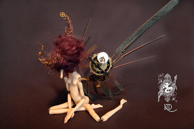 Nevermore Dolls Steampunk Fairy