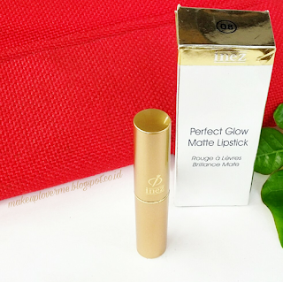 Review Lipstick Inez Perfect Glow Matte Redwood