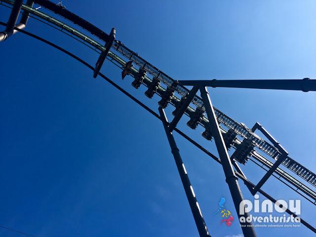 Jurassic Park Roller Coaster Ride USJ OSaka Japan