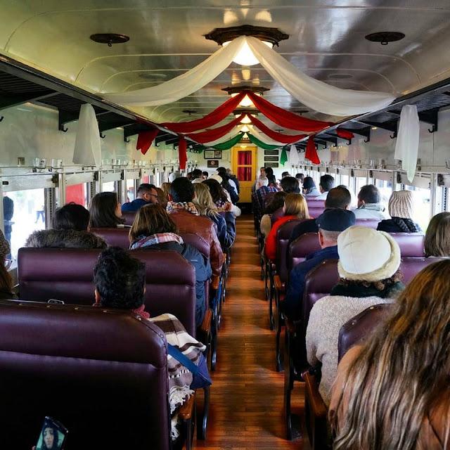 Como é o passeio com o trem Maria Fumaça na Serra Gaúcha