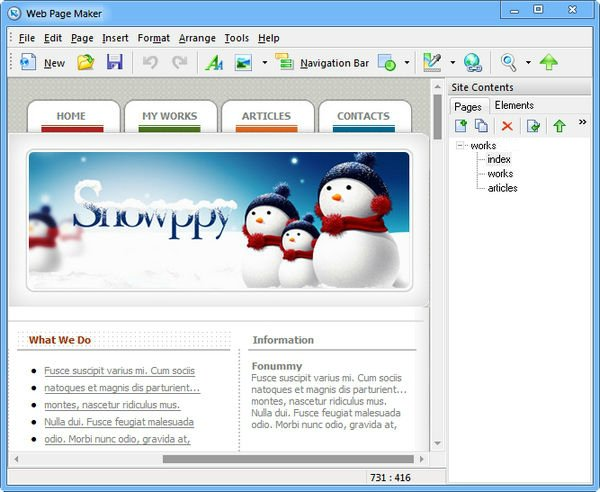 Download web page maker software free - EngineerSoftPk