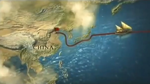 Resultado de imagen de china descubrio america no colon