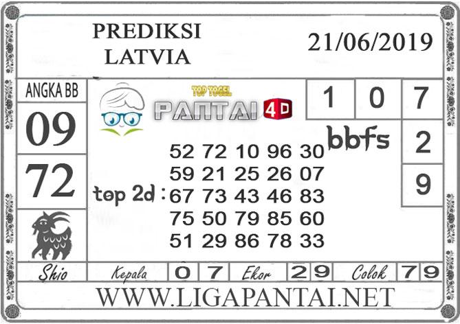 """PREDIKSI TOGEL """"LATVIA"""" PANTAI4D 21 JUNI 2019"""