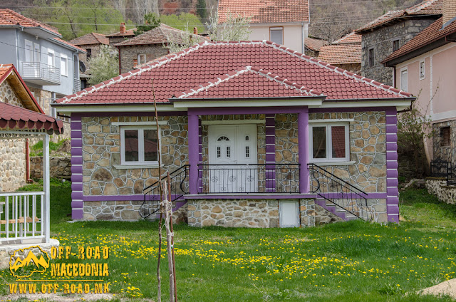 Colorful house in the center of #Brajcino village, #Prespa region, #Macedonia