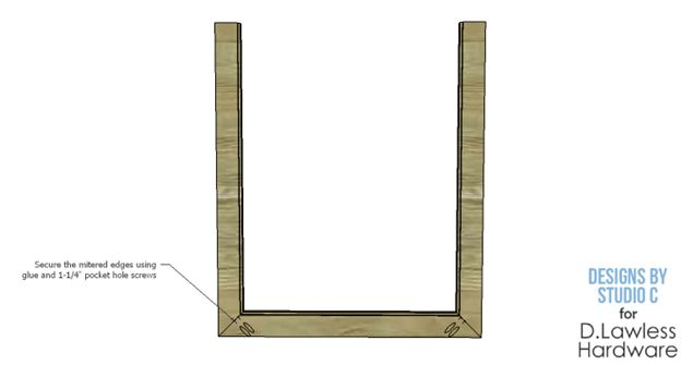 Mirror Frame Plan - And the sides