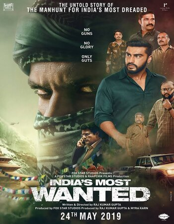 India's Most Wanted (2019) Hindi 480p HDRip x264 350MB ESubs Movie Download