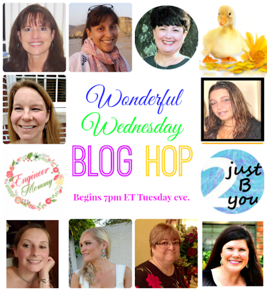 WONDERFUL WEDNESDAY BLOG HOP #195