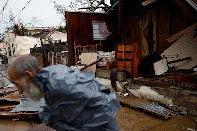 Las imágenes de la devastación en Puerto Rico tras el paso del huracán María
