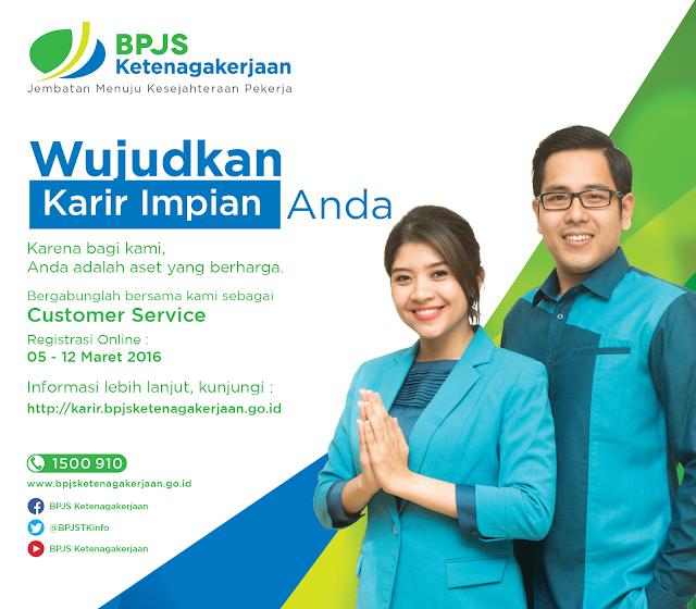 Lowongan Customer Service di BPJS Ketenagakerjaan