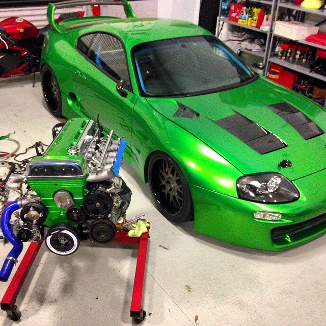 About Cars: Toyota Supra Mk4